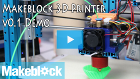 Makeblock DIY 3D Printer